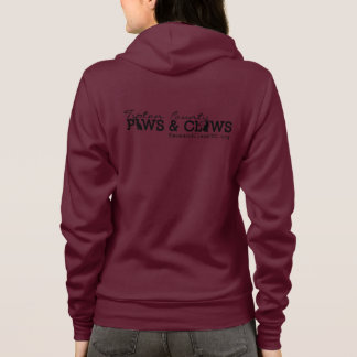 The Paws and Claws Colored Hoodie