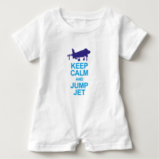 The pays to combat pilots baby romper