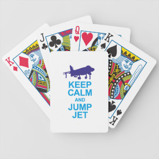 The pays to combat pilots bicycle playing cards