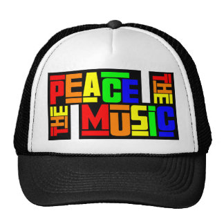 The Peace Music Trucker Hat