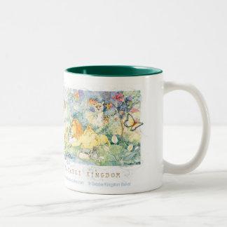 The Peaceable Kingdom Two-Tone Coffee Mug