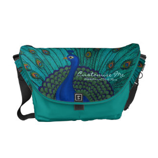 The Peacock Courier Bags