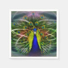 The Peacock Dreamcatcher Napkin