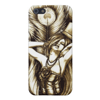 The Peacock iPhone 5/5S Covers