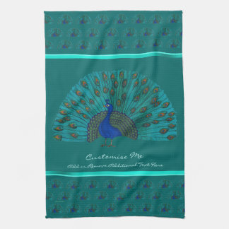 The Peacock Kitchen Towel