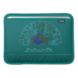 The Peacock MacBook Sleeve