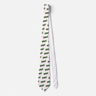 The Peacock Mantis Shrimp Tie