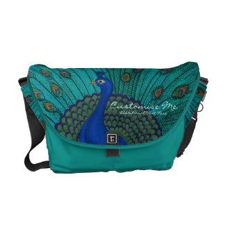 The Peacock Messenger Bag