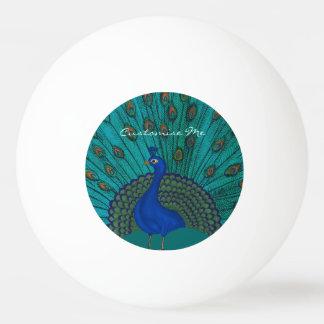 The Peacock Ping Pong Ball