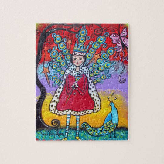 The Peacock Queen Puzzle