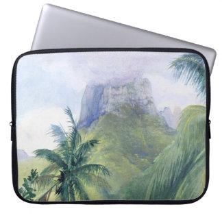 'The Peak of Mauna Roa' - John LaFarge Laptop Sleeve