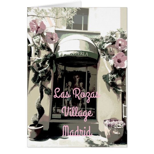The Pearl in Rozas Village of Madrid (Spain) Card