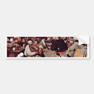 The Peasant Dance By 0 (Best Quality) Bumper Sticker