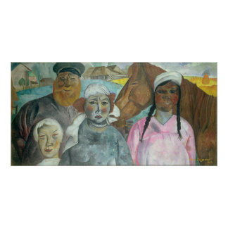 The Peasant Family, 1923 Posters