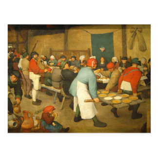 The Peasant Wedding - 1568 Postcard