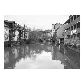 The Pegnitz River. The bridge to the Tredelmarkt Photo Print
