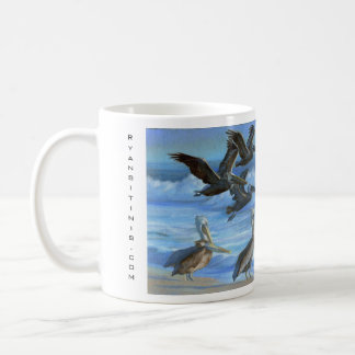 The Pelicans of Ventura Coffee Mug