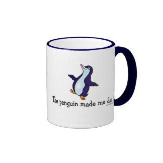 The Penguin Made Me Do it! Mug