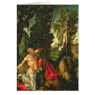 The Penitence of St. Jerome, 1502 Card