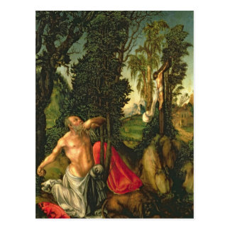 The Penitence of St. Jerome, 1502 Postcard