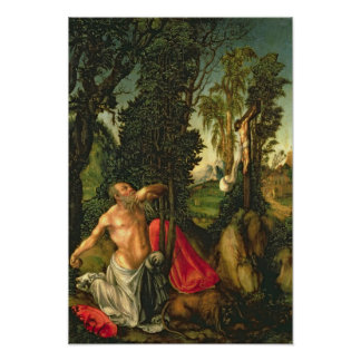 The Penitence of St. Jerome, 1502 Poster