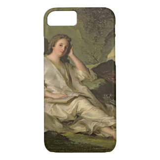 The Penitent Magdalene (oil on canvas) iPhone 7 Case