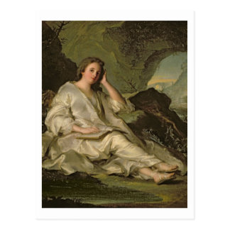 The Penitent Magdalene (oil on canvas) Postcard
