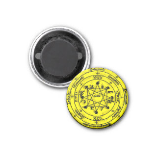 The Pentacle of Rabbi Solomon Magnet