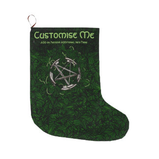 The Pentacle & The Ivy Large Christmas Stocking