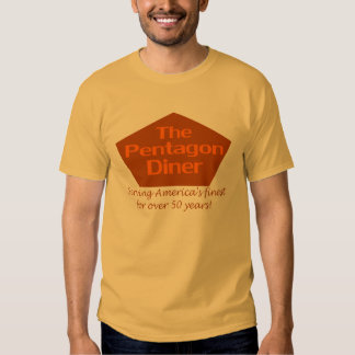 The Pentagon Diner T Shirts