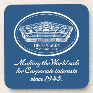 The Pentagon Drink Coasters