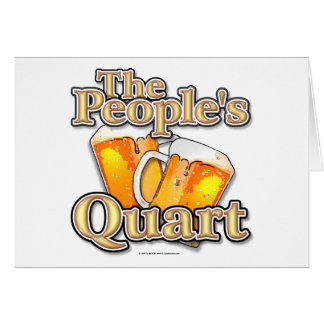 The Peoples Quart Card