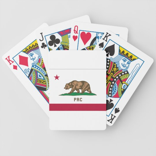 The People's Republic of California Bicycle Playing Cards
