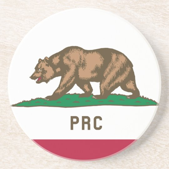 The People's Republic of California Drink Coaster