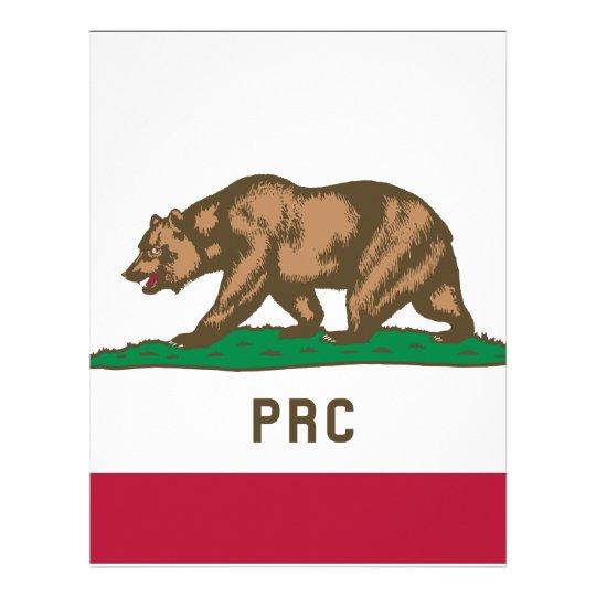 The People's Republic of California Letterhead
