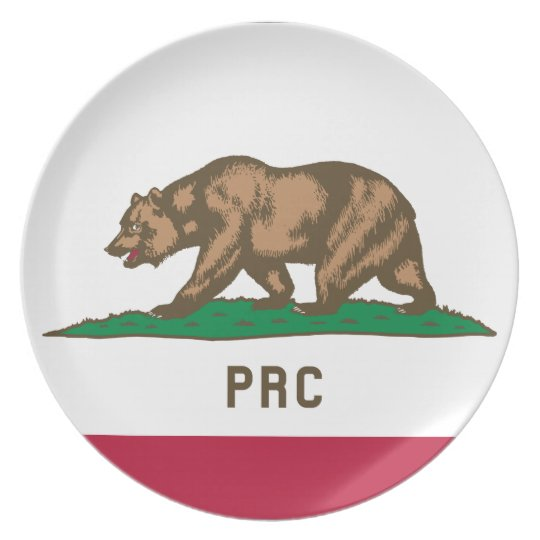 The People's Republic of California Plates