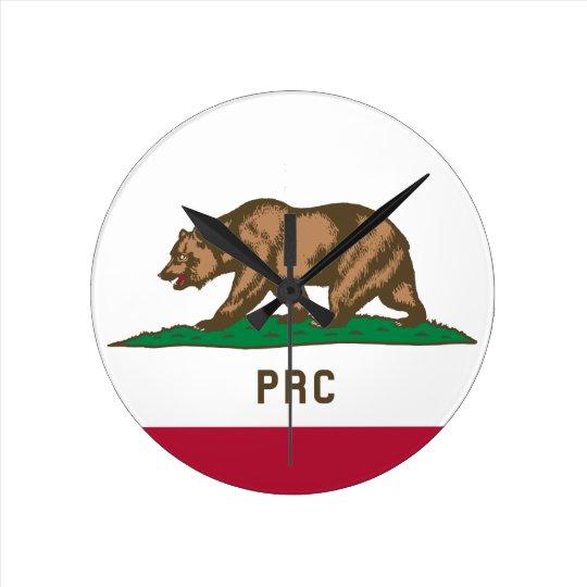 The People's Republic of California Wall Clock
