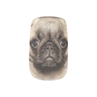 The perfect child  is a pug minx nail art