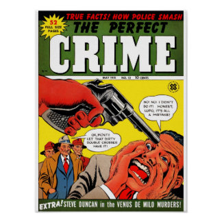 The Perfect Crime #12 Poster