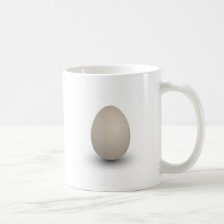 the perfect egg basic white mug
