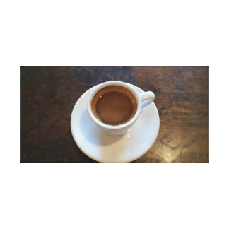 The Perfect Espresso Shot Canvas Print