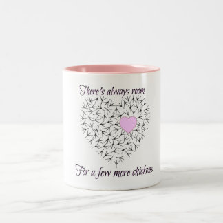 The perfect mug for the chicken-holic!