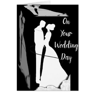 **THE PERFECT PAIR** ON YOUR WEDDING DAY CARD
