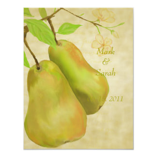 The Perfect Pear Vintage II RSVP Card