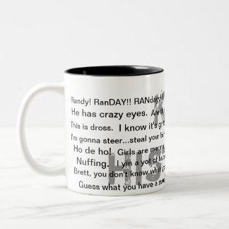 The Perfect Present Two-Tone Coffee Mug