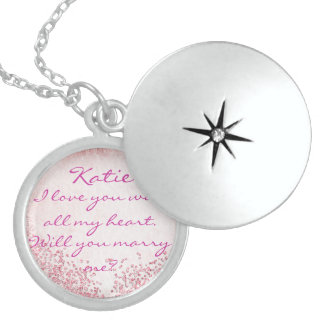 The perfect proposal addition locket