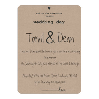 The Perfect Wedding Card