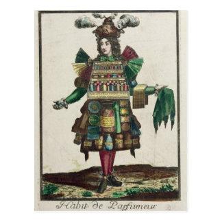 The Perfumer's Costume Postcard