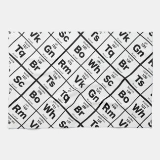 The Periodic Bar Kitchen Towel