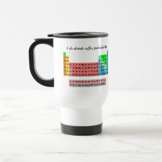 The Periodic Table (Simple Style) Travel Mug